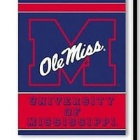 Mississippi Rebels Ole Miss 2-sided GARDEN Flag Window Banner University of