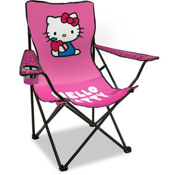 Walmart: Sanrio Hello Kitty Adult Folding Chair with Arm Rest