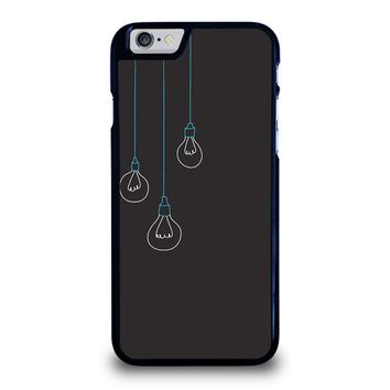 BLACK LIGHT BULBS MINIMALISTIC iPhone 6 / 6S Case