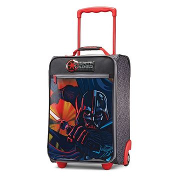 American Tourister Luggage, Star Wars Darth Vader 18-inch Upright Wheeled Luggage Case - Kids