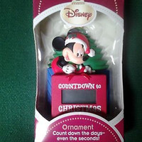 Hallmark Disney Mickey's Countdown to Christmas Ornament