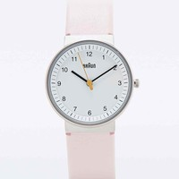 Braun Clean Watch in Pink - Urban Outfitters