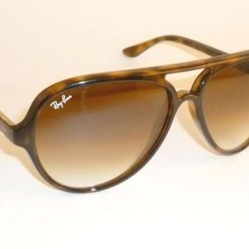 6fede8bd27 New RAY BAN Sunglasses CATS 5000 Tortoise RB 4125 710/51 Gradien