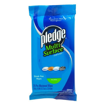 DRACB214629CT - Pledge Multi-Surface Cleaner Wet Wipes