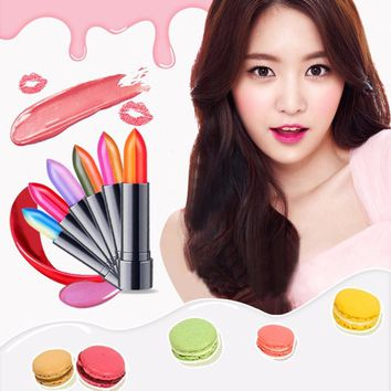 Women Double Color Lipstick Lip Balm Charming Two Color Lipstick Lips Makeup Long Lasting Cosmetic Beauty Tool