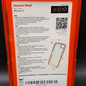 Tech21 Impactology Impact Shell Case for iPhone 5 - (210)