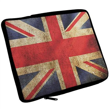 British Flag Union Jack Grunge Artist's Journal Travel Bag
