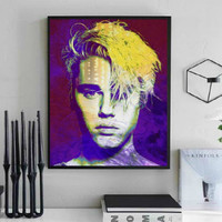 Justin Bieber Wall Art  | Lisa Jaye Art Designs