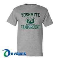 Yosemite Campground T Shirt Women And Men Size S To 3XL