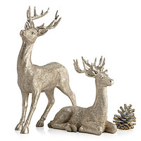 "Majestic Deer - 8""H & 14""H 