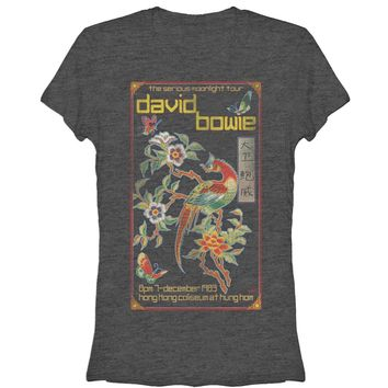 David Bowie Women's - Moonlight Tour Poster T-Shirt
