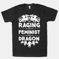 Raging Feminist Dragon