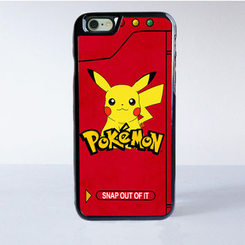 Pokemon Pokedex Pikacu iPhone 6 Case