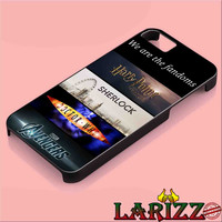 """Fandoms Harry Potter Sherlock Doctor Who Avengers for iphone 4/4s/5/5s/5c/6/6+, Samsung S3/S4/S5/S6, iPad 2/3/4/Air/Mini, iPod 4/5, Samsung Note 3/4 Case """"007"""""""