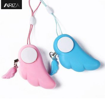 2017 new designed self defense keychain alarm for girls kids students elderly support OEM customized logo and packaging