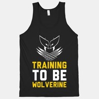 Training to be Wolverine