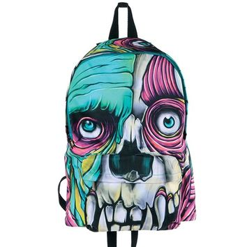 """Skin Crawler"" Backpack by Iron Fist (Black)"