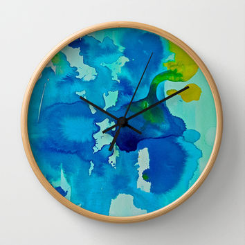 Topography Wall Clock by DuckyB (Brandi)