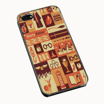 Harry Potter Collage iPhone 4(S) 5(S) 5C Cases