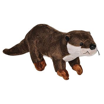 "11"" River Otter Stuffed Animal Plush Zoo Animal Friend Collection"