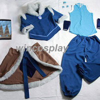 Cheap! Avatar The Legend of Korra Korra Cosplay Costume any size