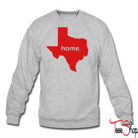 texas home crewneck sweatshirt