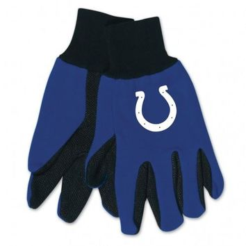 Indianapolis Colts - Adult Two-Tone Sport Utility Gloves