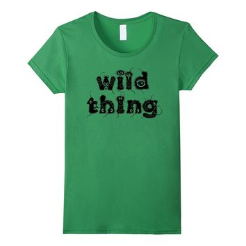 "Funny ""Wild Thing"" Halloween Party Costume Tshirt"