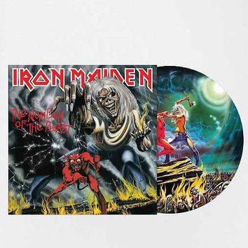 Iron Maiden - The Number Of The Beast Picture Disc LP