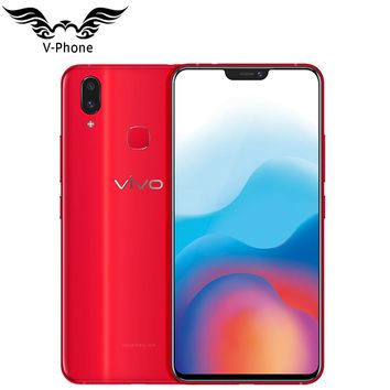 "New Vivo x21 4G LTE Mobile Phone 6.28"" 6GB RAM 128GB ROM Dual rear Camera Android 8.1 2280x1080 face wake fingerprint Smartphone"