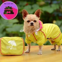 Big SALE Double layer dog raincoat clothes for small dogs