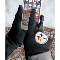 Official Licensed NFL Fan Unisex Warm Knit Texting Gloves Gift Idea