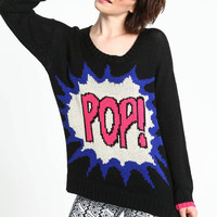 POP! KNIT SWEATER