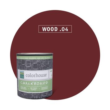 Chalkboard Paint by Colorhouse WOOD .04