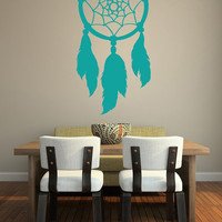 Wall Decal Dream Catcher Native American Feathers Web