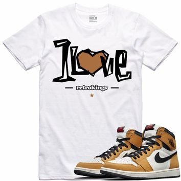 Air Jordan 1 Rookie of the Year Sneaker Tees Shirt - ONE LOVE RK