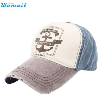 Superior  Fashion Unisex Retro Anchor Hip Hop Adjustable Baseball Snapback Hat Cap JUL 06Jan 22