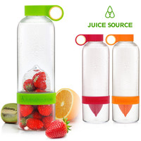 Juice Source Creative Portable Lemonade Bottle