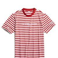 Guess Originals X A$AP Rocky Red Striped Tee - Yeezy For Sale | Buy Yeezys