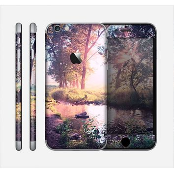 The Vivid Colored Forrest Scene Skin for the Apple iPhone 6