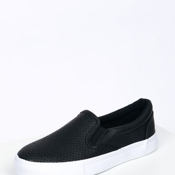 Slip On Sneakers Black