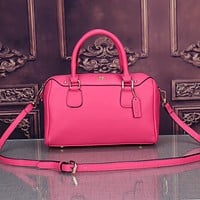 Coach Women Fashion Leather Satchel Shoulder Bag Handbag Crossbody