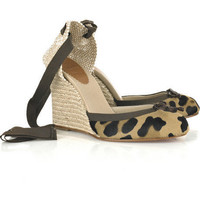 Christian Louboutin Carino 100 wedges - $210.00