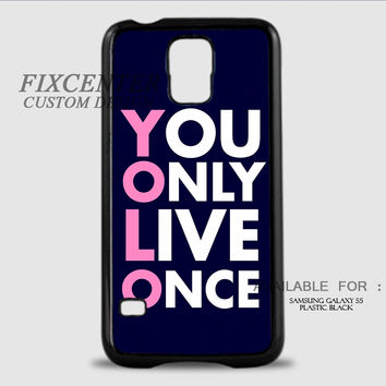 YOLO BLACK - Samsung Galaxy S5 Case