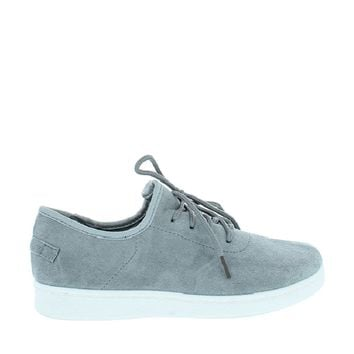 Suede Casual Lace Up Sneaker