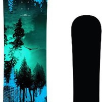 High Society Freeride Twilight 163cm Snowboard 2013
