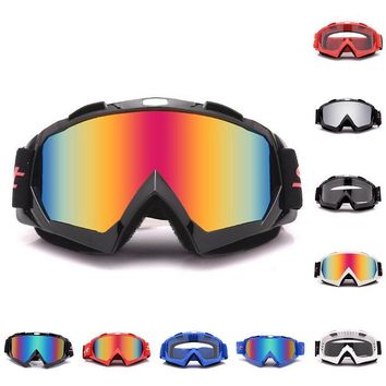 Motorcycle Helmet Riding Off-Road Set Outdoor Ski Goggles Motorcycle Goggles / MT02 Goggles