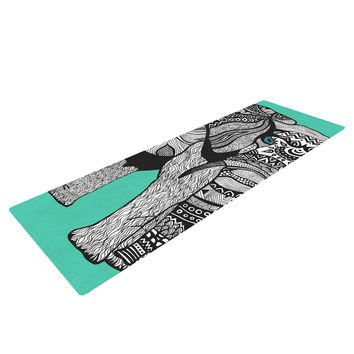 "Pom Graphic Design ""Elephant of Namibia Color"" Yoga Mat"