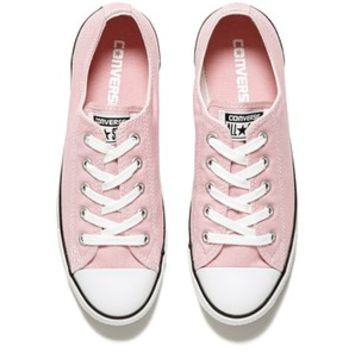 Converse Women's Chuck Taylor All Star Dainty OX Trainers - Pink Freeze