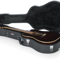 Deluxe Wood Case for Dreadnought Guitars